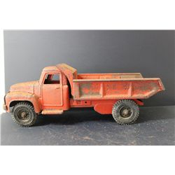 BUDDY L DUMP TRUCK - BODY SOLID - NEEDS PAINT - 21""