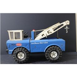 "MIGHTY TONKA DOUBLE BOOM TOW TRUCK  - 16.5"" X 8"""