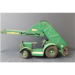 BARBER GREEN TRUCK W/ LOADER - WORKS GREAT