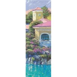Howard Behrens Art Print Lago Bellagio Panel I