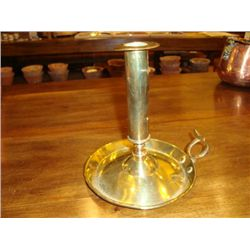 Antique French brass candlestick Early 1900's