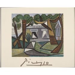 Pablo Picasso : Le Vert Egalant House Art Print