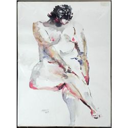 Betty Snyder Rees Original Painting Saturday Nudes #26