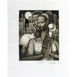 Keith Mallett: Rhapsody Signed and Numbered