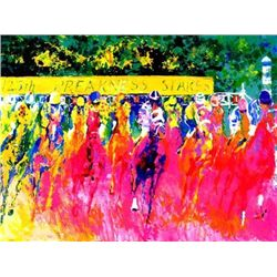 125TH Preakness Stakes Signed LeRoy Neiman LE Art Print