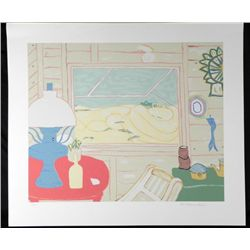 McClanahan Signed and Numbered Lithograph Print