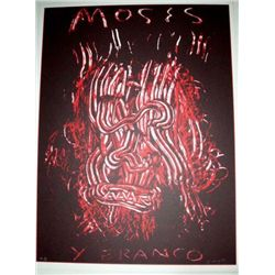 Ed Moses Signed LE Art Print Moses y Bronco