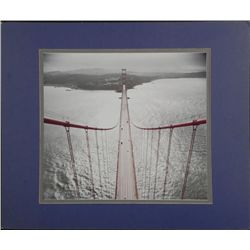 Orig Photograph From Top of the Golden Gate Bridge SF