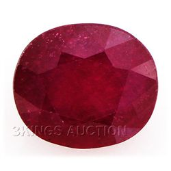 8.80ctw African Ruby Loose Gemstone