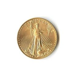 One-Tenth Ounce 2004 US American Gold Eagle Uncirculate