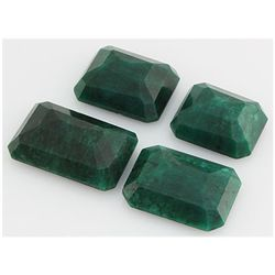 Emerald 434ct Loose Gemstone Mix Sizes Emerald Cut