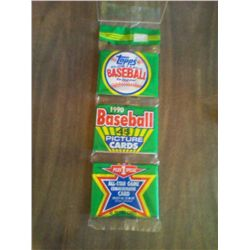 TOPPS 1990 BASEBALL 45 PIC CARDS + 1 SPECIAL ALL STAR COMM CARD