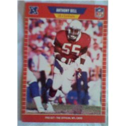 PRO SET NFL ANTHONY BELL 474  1989