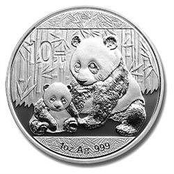 Chinese Silver Panda One Ounce 2012