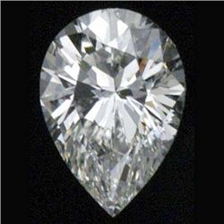 DIAMOND EGL CERTIFIED Pear 2.03 CTW D, SI2