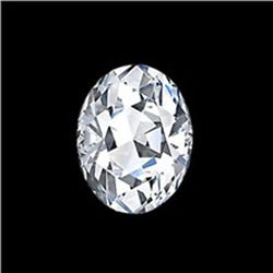 EGL Certified 0.68 ct OVAL BRILLIANT  H, SI1