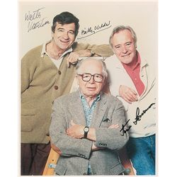 Jack Lemmon, Walter Matthau, and Billy Wilder