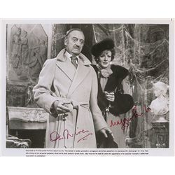 David Niven and Maggie Smith