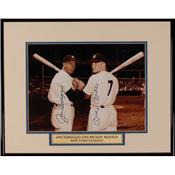 Joe DiMaggio and Mickey Mantle