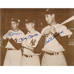 DiMaggio, Mantle, and Williams