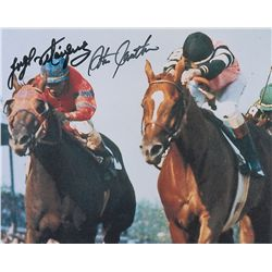 Horse Racing: Cauthen and Velasquez