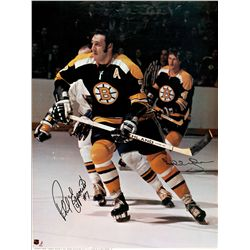 Bobby Orr and Phil Esposito