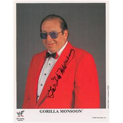 Wrestling: Gorilla Monsoon
