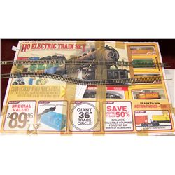 Ho Electric Train Set