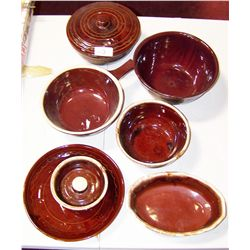 Six Pieces of Pottery