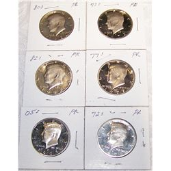 (6X$) Kennedy Proof Halves.