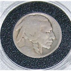 Rare 1913-D Type 2 Buffalo Nickel.