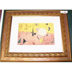 Miro Catalan Landscape Giclee on Paper