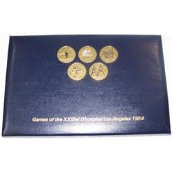 1984 Olympics Commemorative Set of Transit Tokens