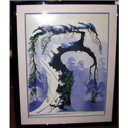 "EYVAND EARLE ""NORWAY PINE"" ORIGINAL SERIGRAPH"