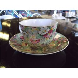 Ridgway English porcelain chintz cup & saucer set tracking# 133