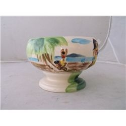 vintage Harvey's Lake Tahoe hula girl Tiki bowl tracking#75