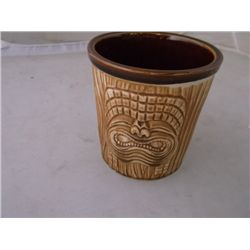 4 vintage OMC Japan three-face brown Tiki mug vintage OMC Japan three-face brown Tiki mug tracking#7