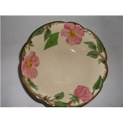 "vintage Franciscan Desert Rose bowl 6"" round  tracking 245"