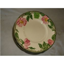 "vintage Franciscan Desert Rose bread & butter plat 13 total plates 6 1/2"" round tracking 260"