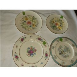 4 Lenox porcelain dinner plates tracking#153