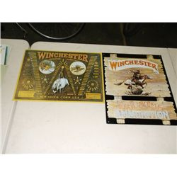 "Reproduction Winchester signs 16""x12"" 16x13"""