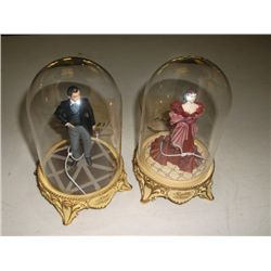 Rhett Butler and Scarlet shame Gone with the Wind figurines made in China