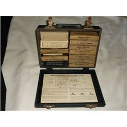 vintage Red Cross first aid kit tracking#163