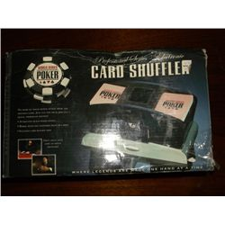 Card Shuffler World Poker Tour Professional Series Electronic Card shuffler new in box