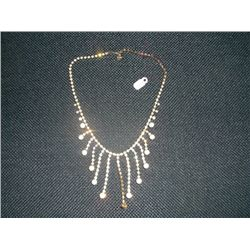 "12"" Rhinestone Necklace"