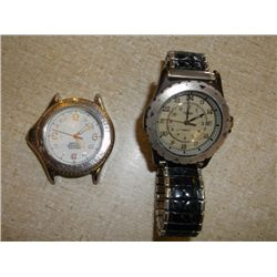 timex and wenger swiss watch timex watch w/band and wenger swiss military watch no band