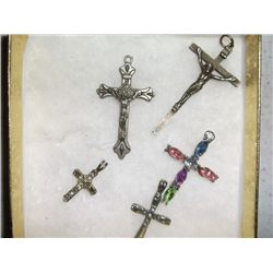 5 Crucifix Crosses