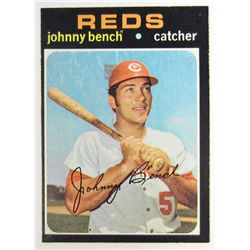 1971 TOPPS JOHNNY BENCH BASEBALL CARD