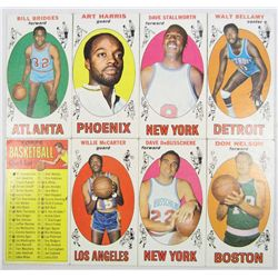 LOT OF 8 1969-70 TOPPS BASKETBALL CARDS