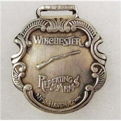 WINCHESTER REPEATING ARMS ADVERTISING WATCH FOB